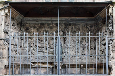 Nürnberg. St. Sebald: Epitaph Schreyer-Landauer (Adam Kraft, 1492)