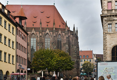 Nürnberg. St. Sebald: Chor von Süden
