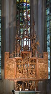 Rothenburg. St. Jakob, Heiligblutaltar (Tilman Riemenschneider, 1504)