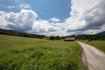 In der Nähe von Mittenwald