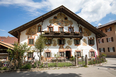 Bauernhaus in Oberammergau