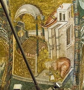 Istanbul, Chora-Kloster: Zacharias betet über Bewerberstäben (22)