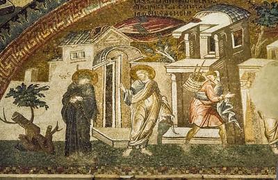 Istanbul, Chora-Kloster: Abschied und Rückkehr von Joseph (26)