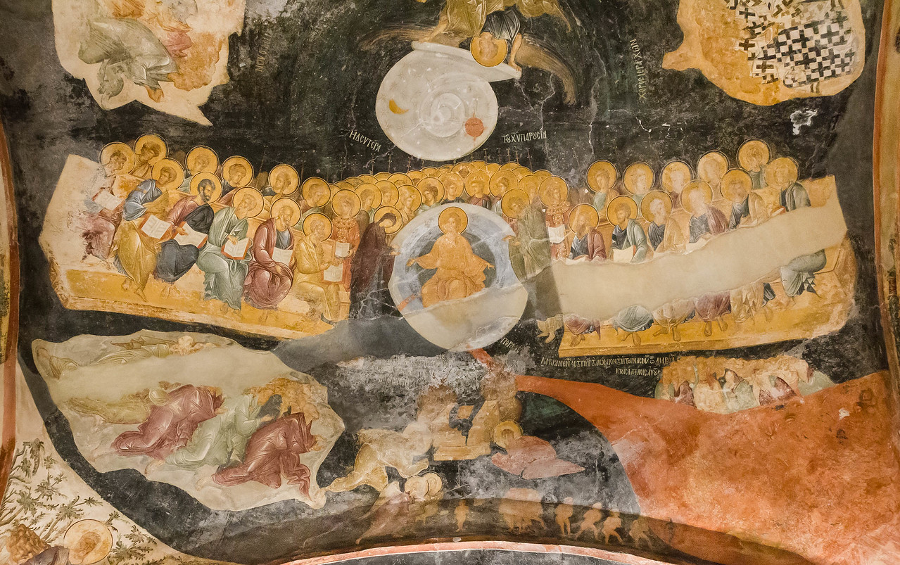 Istanbul, Chora-Kloster, Parekklesion: Weltgericht (68)