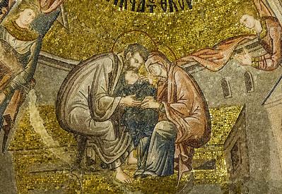 Istanbul, Chora-Kloster: Liebkosung Marias (17)