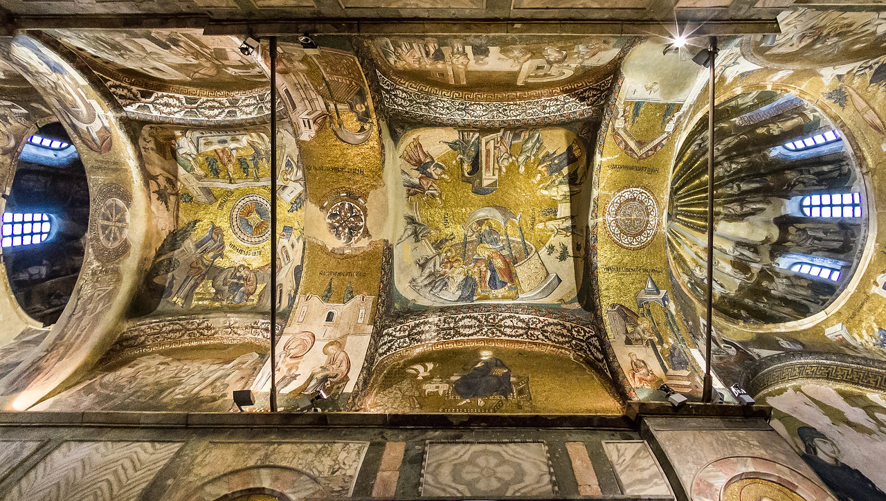 Istanbul, Chora-Kloster: Innerer Narthex, Joch 3