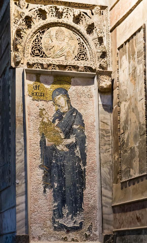 Istanbul, Chora-Kloster: Naos, Maria Hodegetria