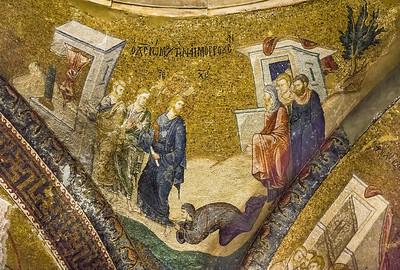 Istanbul, Chora-Kloster: Heilung der Blutflüssigen (61)