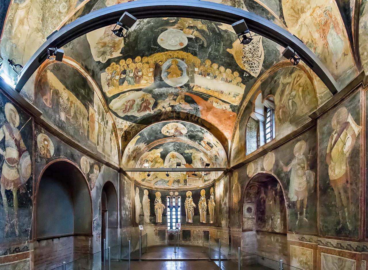 Istanbul, Chora-Kloster, Parekklesion = Grabkapelle nach Osten