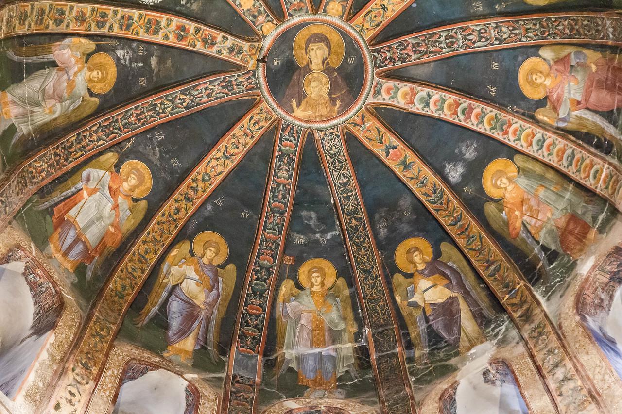 Istanbul, Chora-Kloster, Parekklesion: Maria mit Engeln, Detail (69)