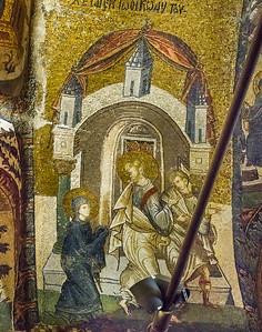 Istanbul, Chora-Kloster: Joseph nimmt Maria in sein Haus (24)