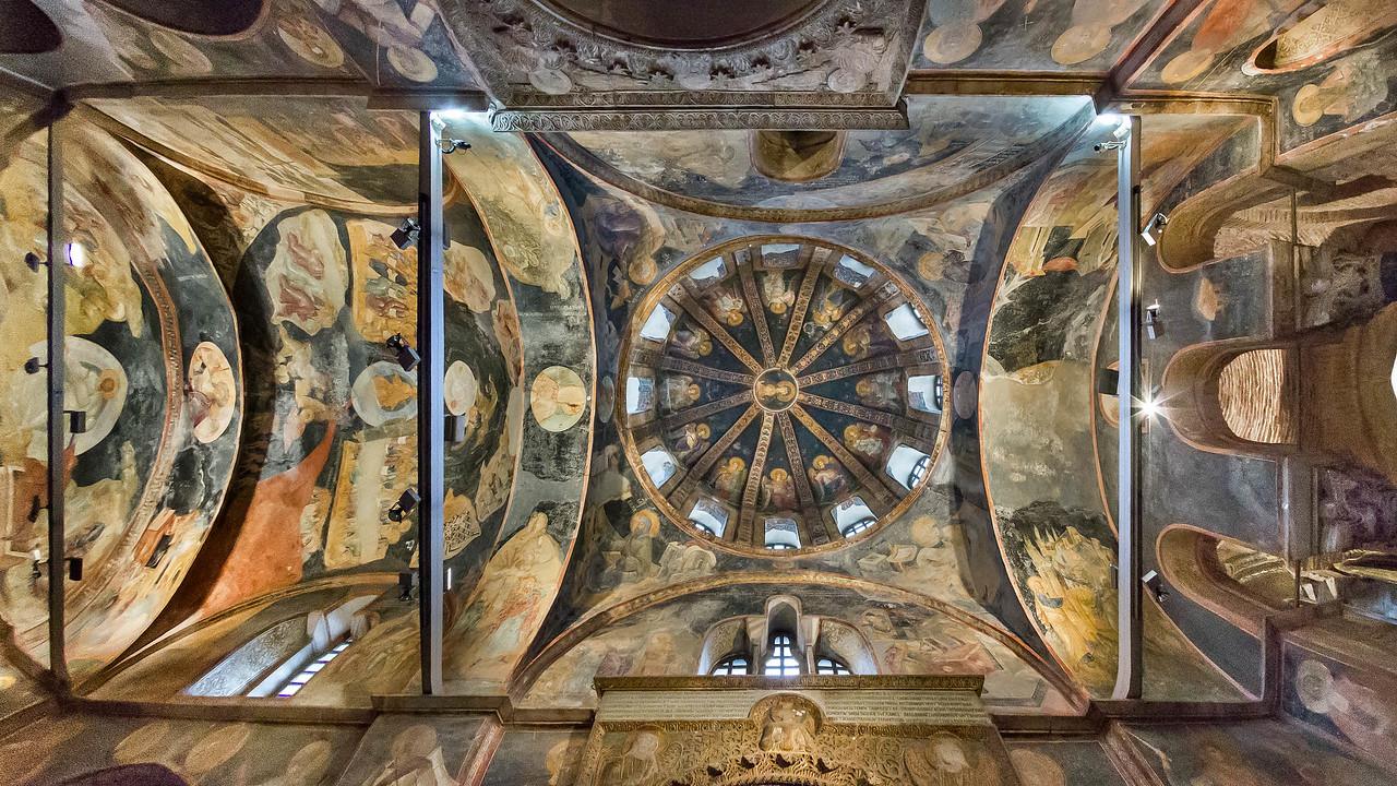 Istanbul, Chora-Kloster, Parekklesion, westl. Joch: Maria mit Engeln (69)