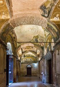 Istanbul, Chora-Kloster: äußerer Narthex (äN) nach Norden