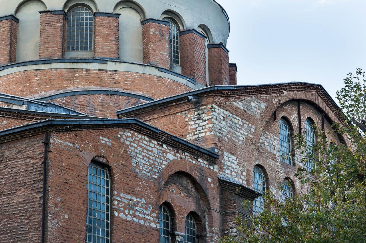 Istanbul, Hagia Eirene von Nordosten, Detail