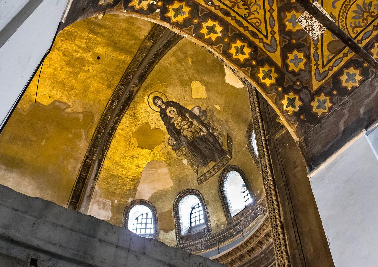 Istanbul, Hagia Sophia: Apsismosaik (867)