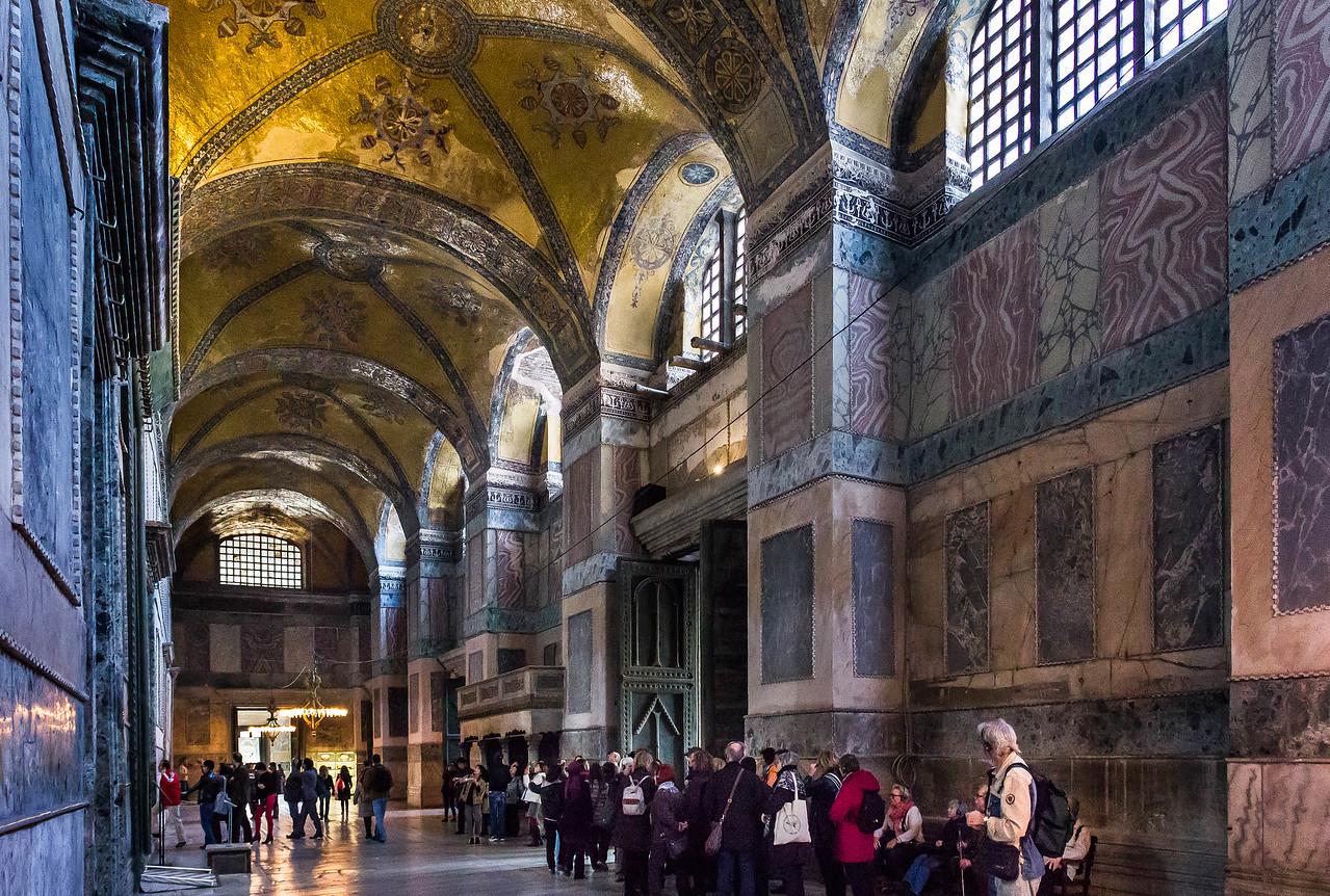 Istanbul, Hagia Sophia: innerer Nartex
