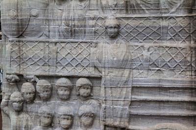Istanbul, Obelisk im Hippodrom: Südwestseite, Detail