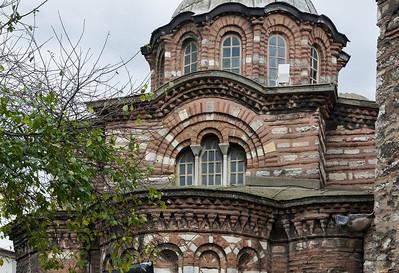 Istanbul, Pammakaristos-Kloster: Grabkapelle von Osten, Detail