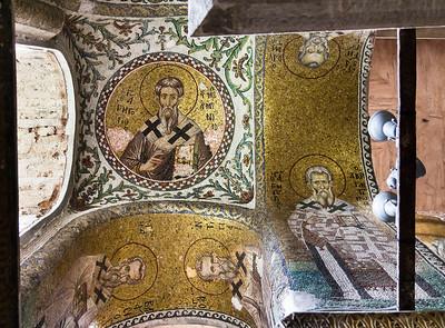 Istanbul, Pammakaristos: Kirchenväter im Südosten