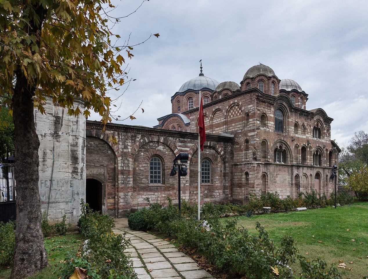 Istanbul, Pammakaristos-Kloster (Fethiye Camii) von Süden