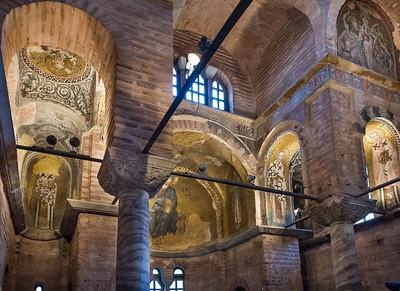 Istanbul, Pammakaristos: Blick aus Nordwesten der Grabkapelle nach Südosten
