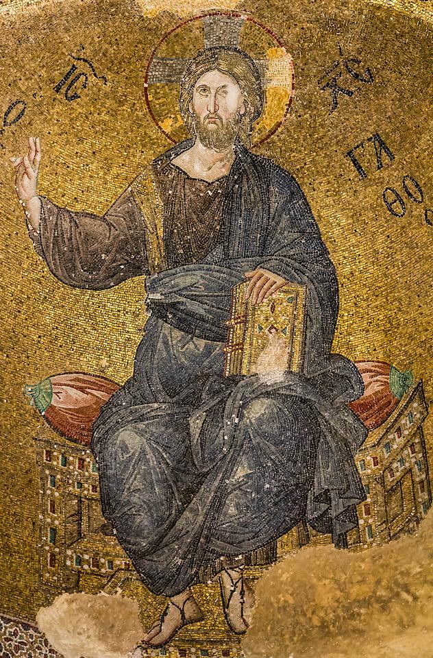 Istanbul, Pammakaristos: Christus in Apsis