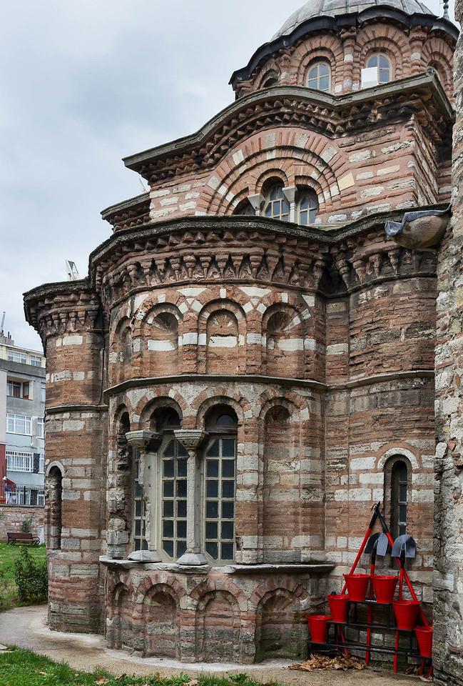 Istanbul, Pammakaristos-Kloster: Grabkapelle von Osten