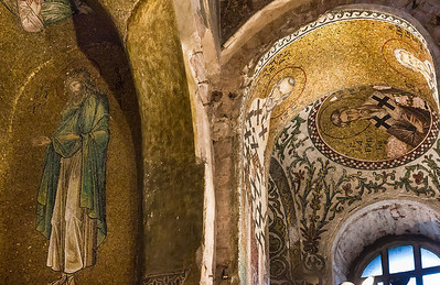 Istanbul, Pammakaristos: Johannes d.T. und Kirchenväter
