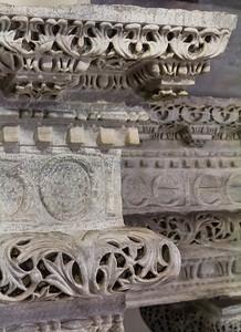 Istanbul, Sergios und Bakchos: Architravecke, Detail
