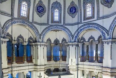 Istanbul, Sergios und Bakchos: nordwestl. Nischen, oberer Teil