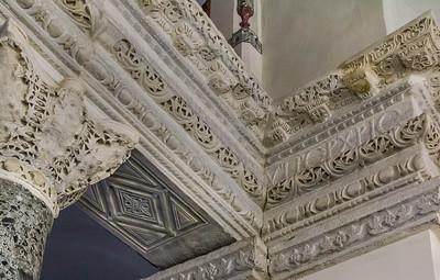 Istanbul, Sergios und Bakchos: Architravecke