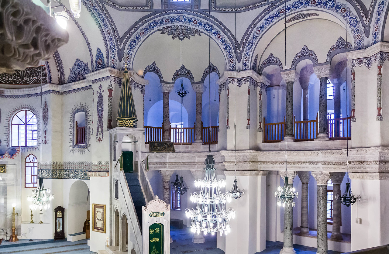 Istanbul, Sergios und Bakchos: Inneres auf Apsis und 2 südl. Nischen