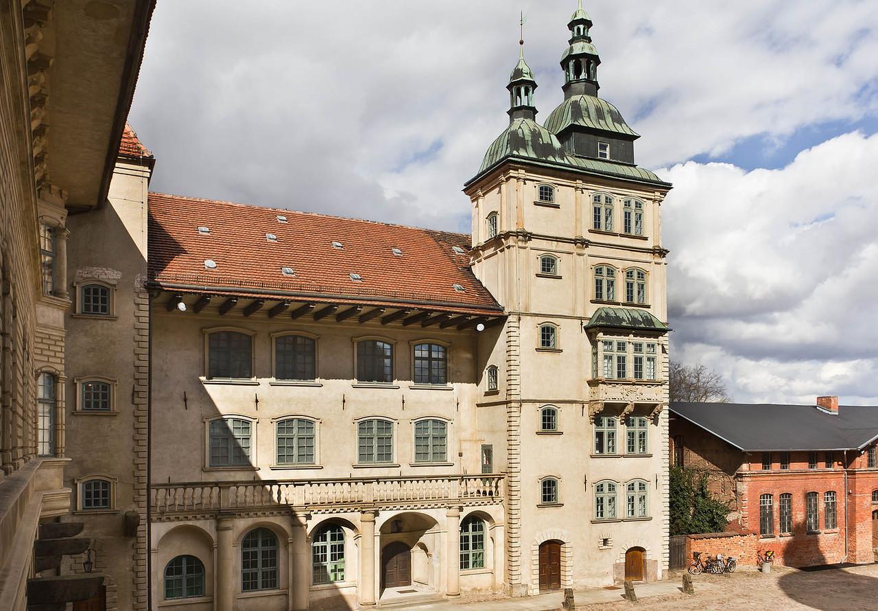 Güstrow. Schloss. Innenhof, Nordflügel