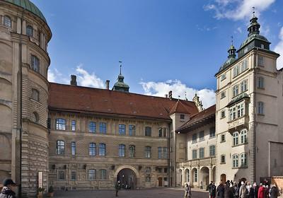 Güstrow. Schloss. Innenhof