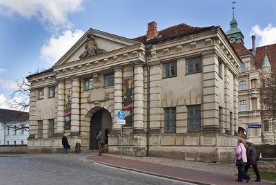 Güstrow, Schloss. Torhaus von Westen