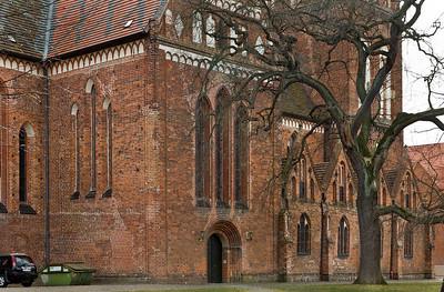 Güstrow, Dom von Norden, Detail
