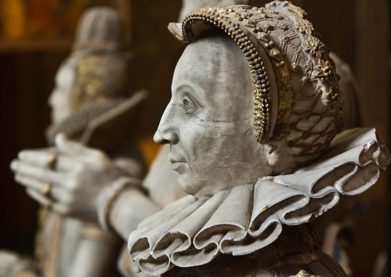 Güstrow, Dom. Chor, Ulrichmonument: Anna von Pommern