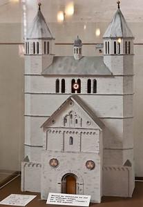 Gandersheim. Stiftskirche: Model der Kirche 1.H. 17.Jh.