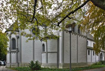 Goslar. Neuwerkkirche: Ostpartie