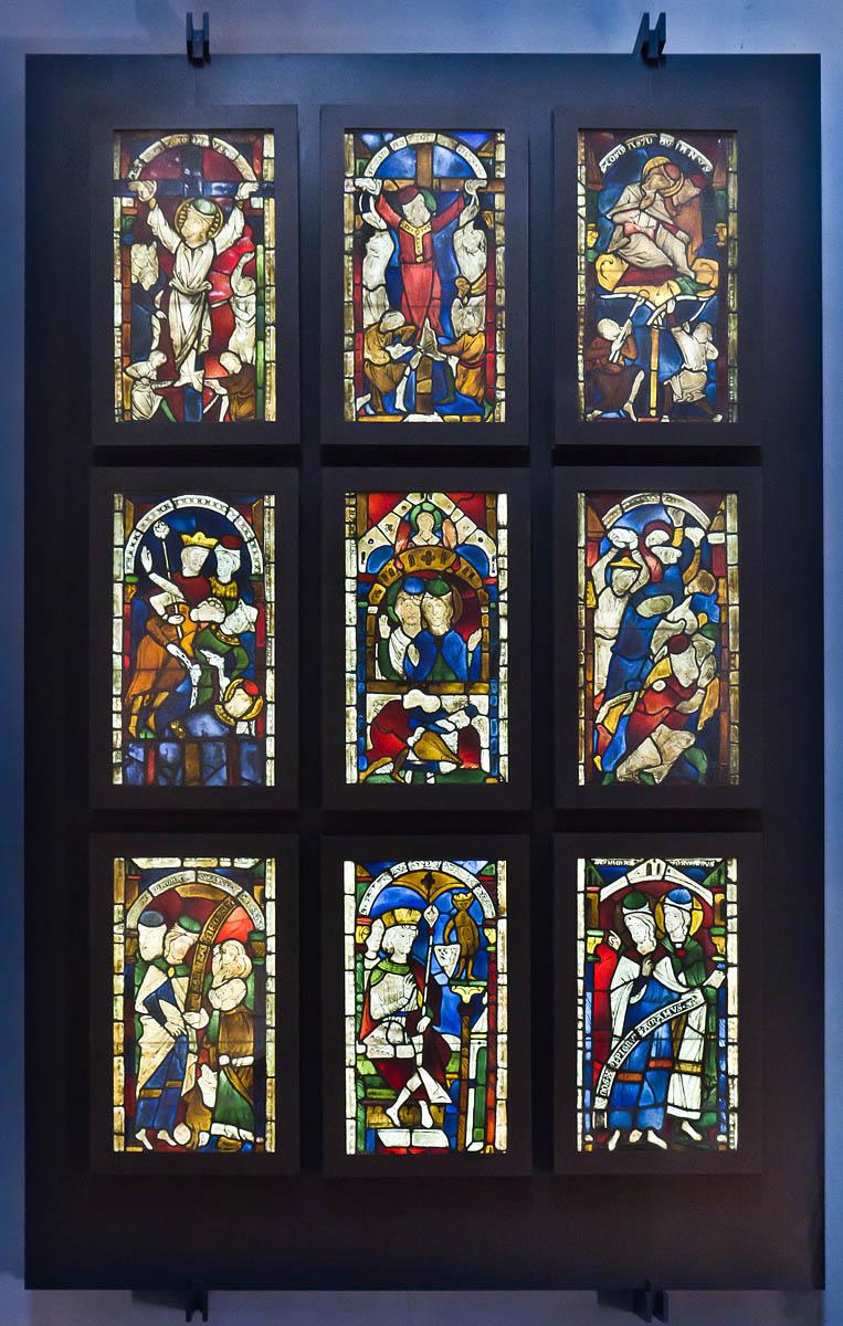 Goslar. Marktkirche Cosmas und Damian, Fenster (vor 1250)
