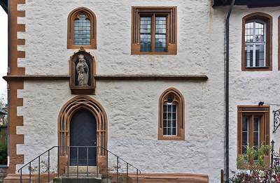 Goslar. Seitenfront Rathaus