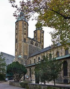 Goslar. Marktkirche Cosmas und Damian von Südosten