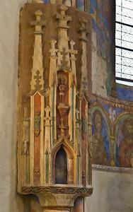 Goslar. Neuwerkkirche: Chor, Sakramentshaus (1484)