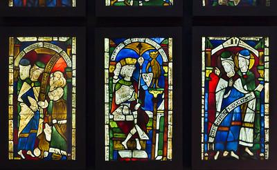 Goslar. Marktkirche Cosmas und Damian, Fenster 1 bis 3 (vor 1250)