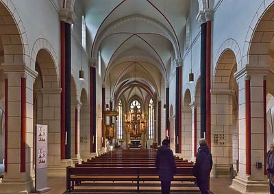 Goslar. Marktkirche Cosmas und Damian, Längsschiff nach Osten