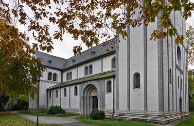 Goslar. Neuwerkkirche von Nordwest