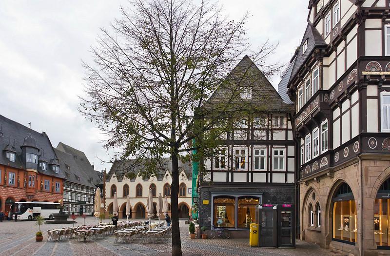 Goslar. Markt von Nordosten