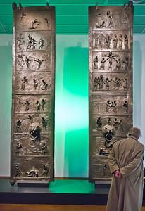 Hildesheim. Bernwardtür im Roemer-Pelizeus-Museum (RPM)