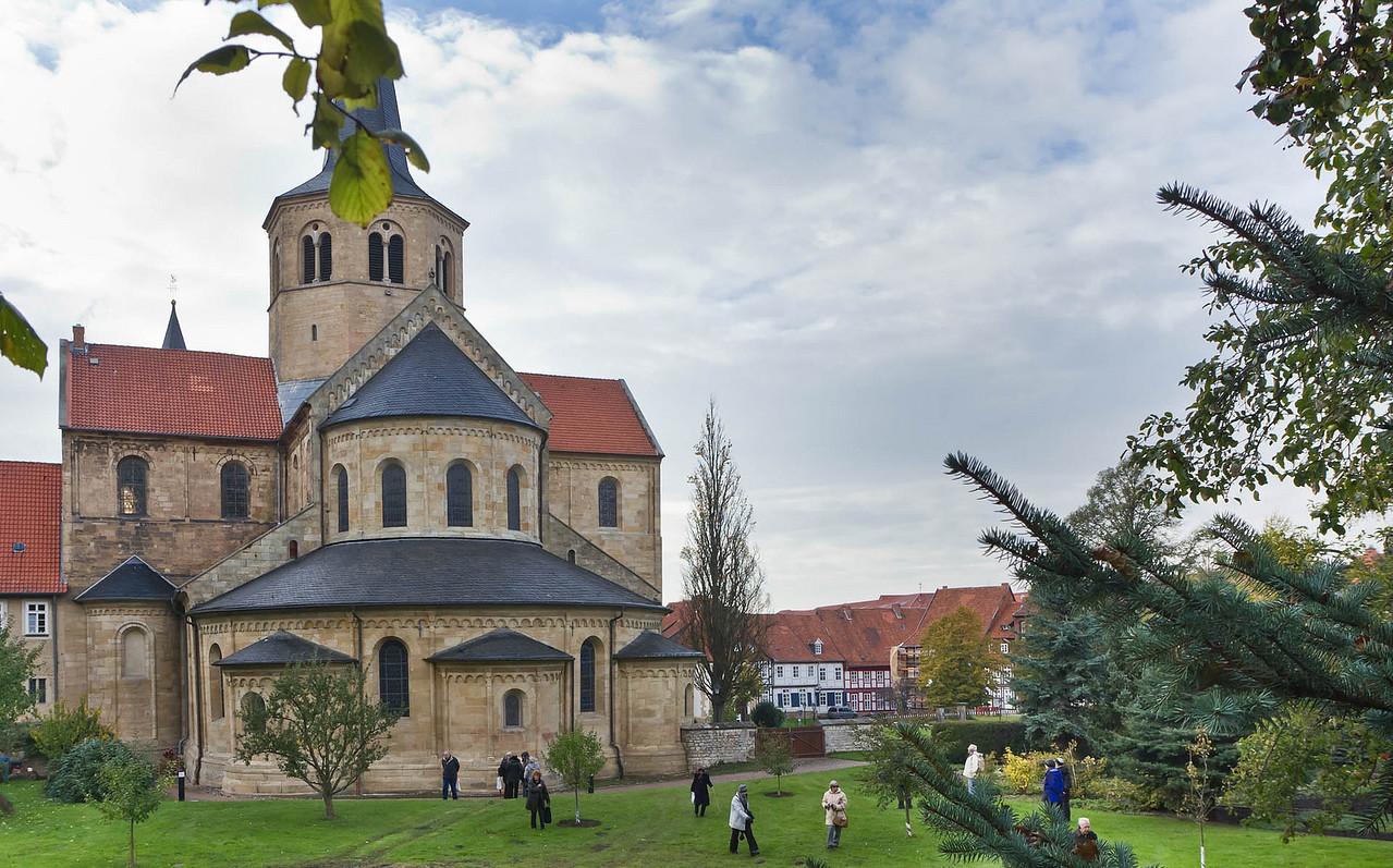 Hildesheim, St. Godehard, Ostchor von Osten