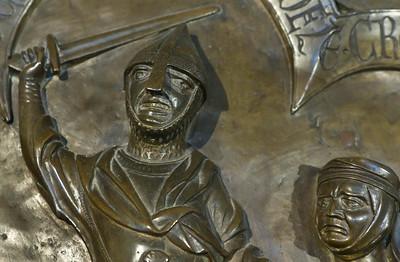 Taufbecken aus Hildesheimer Dom: Kindermord von Bethlehem, Detail